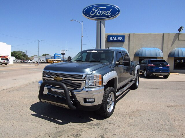Pre-Owned 2012 Chevrolet Silverado 2500HD LTZ