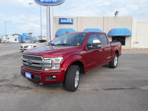 Pre-Owned 2018 Ford F-150 Plat