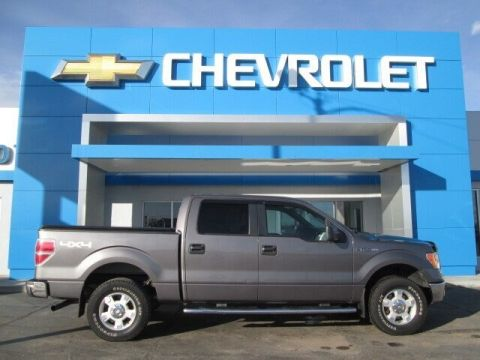 Pre-Owned 2011 Ford F-150 XLT Crew Cab